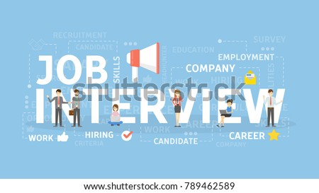 job interview concept