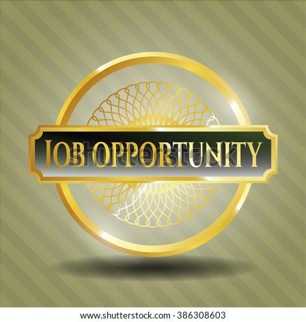 Job Opportunity gold badge