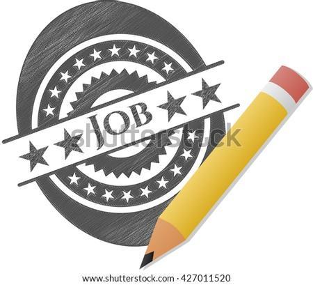 Job pencil effect