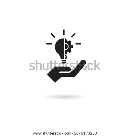 Job proposal delivery icon. Basic solid icon. Foto stock ©