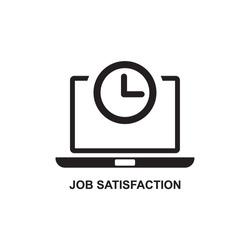 JOB SATISFACTION ICON , EMPLOYEE SATISFACTION ICON