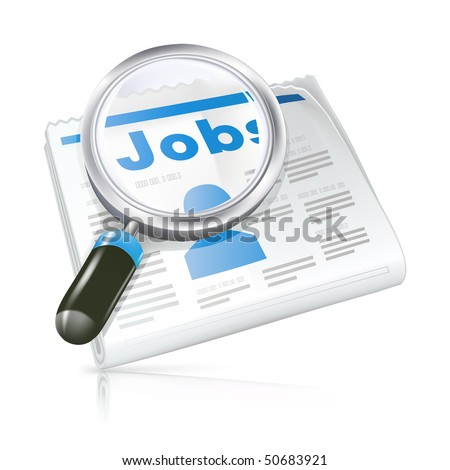 Job, vector icon