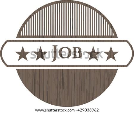Job wooden signboards