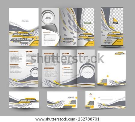 jockey competition stationery