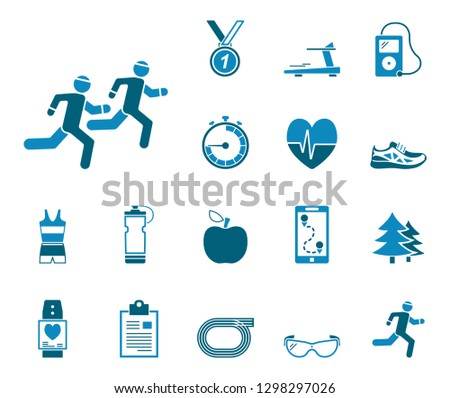 Jogging and Running - Iconset (Icons)