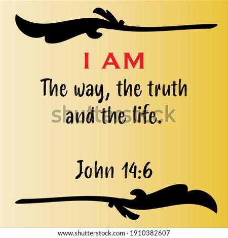 john 14 6   jesus' i am the way