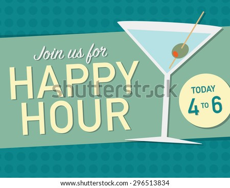 join us for happy hour today