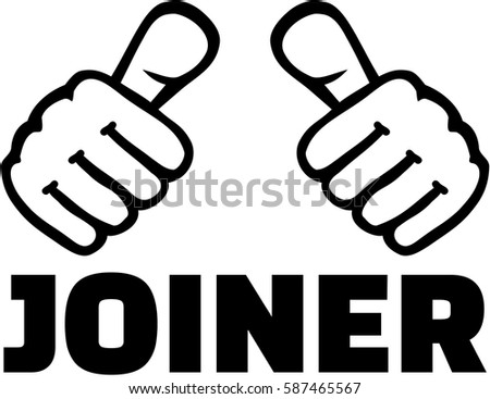 Joiner with thumbs