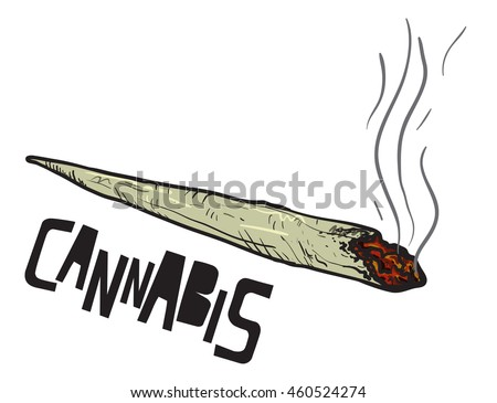 joint or spliff drug