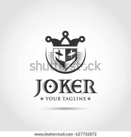 joker black logo and icon