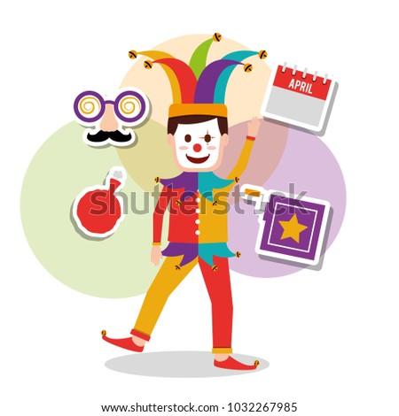 joker character mask box