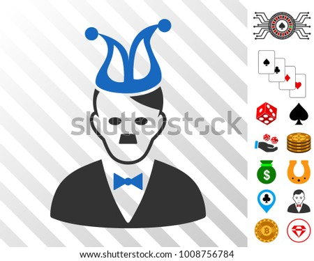 joker hitler pictograph with