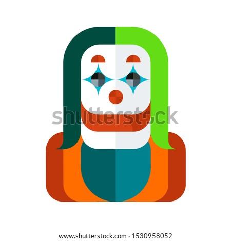 joker vector illustration in a