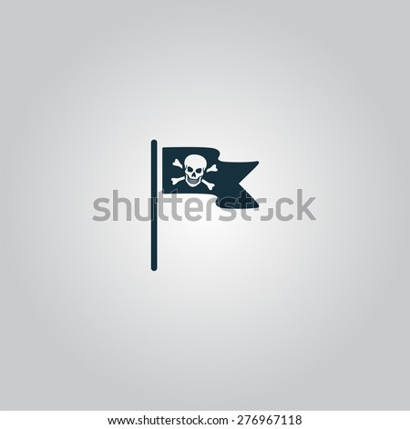 jolly roger or skull and cross