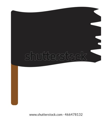 jolly roger vector flag cartoon
