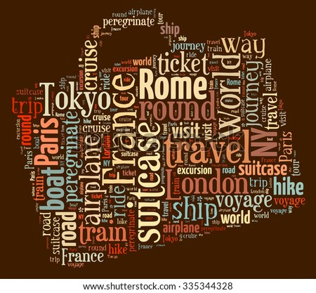 journey keywords tag cloud