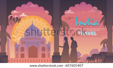 journey to india taj mahal at