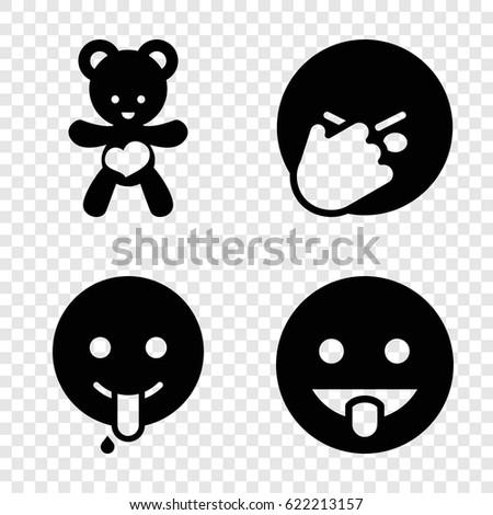joy icons set set of 4 joy