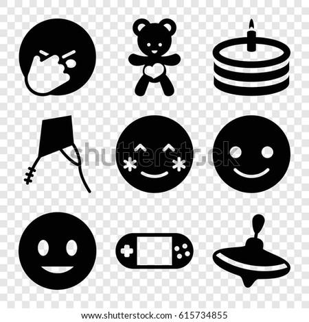 joy icons set set of 9 joy
