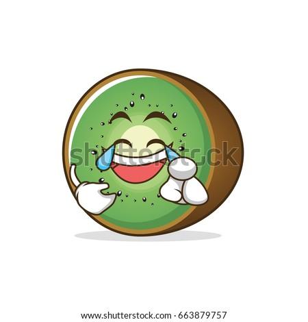 joy kiwi fruit cartoon