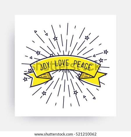 joy love peace merry christmas