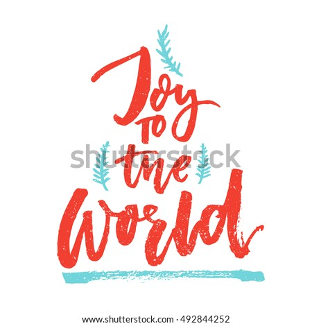 joy to the world christmas