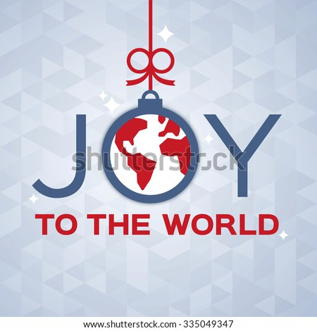 joy to the world decorative