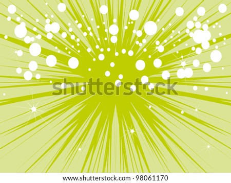Joyful gentle abstract background of summer. vector illustration