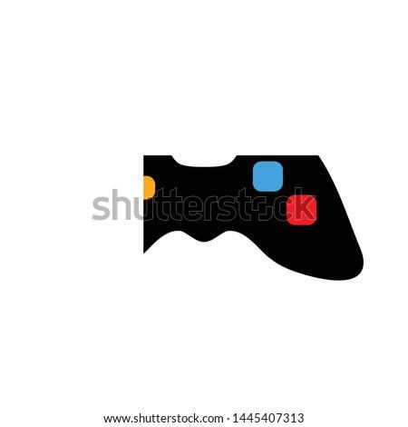 joystick icon logo element