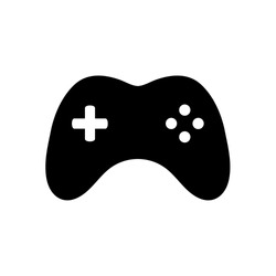 Joystick vector icon vector illustration isolated on white background. Game console symbol.