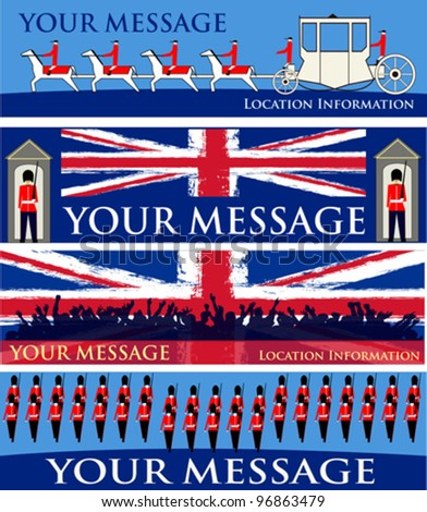 jubilee banners  set of vector...