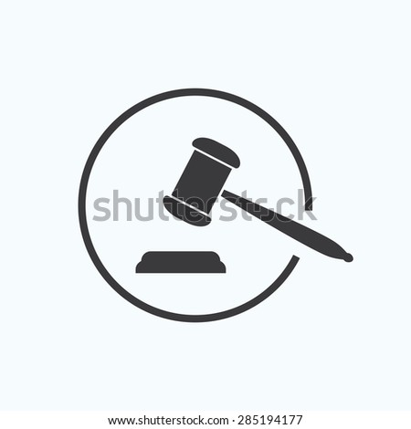 judge's gavel or auction