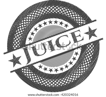 Juice pencil effect
