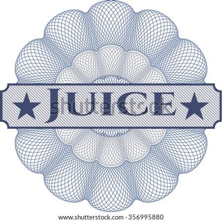 Juice rosette