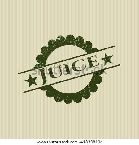Juice rubber grunge texture seal
