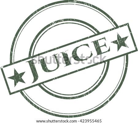 Juice rubber seal