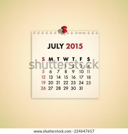stock-vector-july-note-paper-calendar-vector