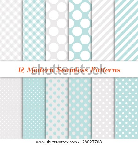 jumbo polka dot  gingham and