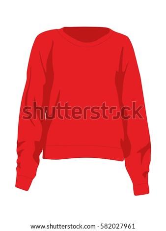 jumper vector red
