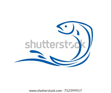 jumping fish in the water