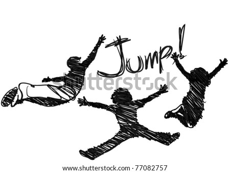 jumping vector  eps
