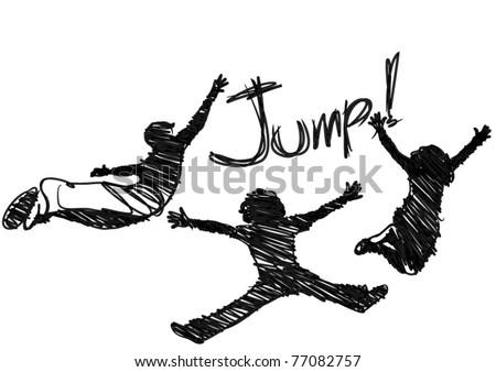 jumping vector  eps