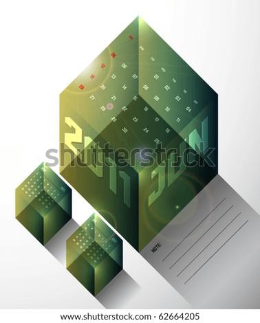 June - Calendar Design 2011