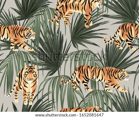 jungle exotic seamless pattern
