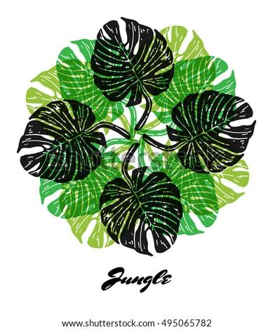jungle fractal composition