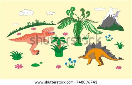 jurassic dinosaurs world kids