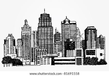 Just a Sketch of a Big City