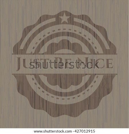 Just Be Nice wood signboards