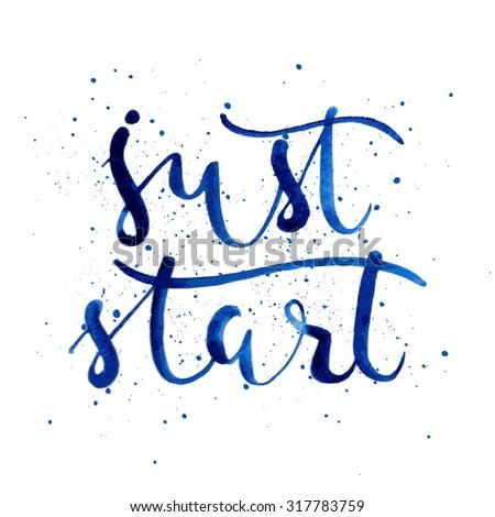 just startpositive poster