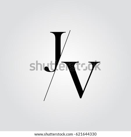 JV Logo Stock fotó ©